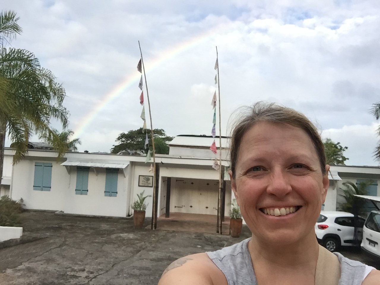 Something different Seychelles love The Station rainbow